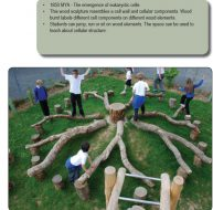 Franciscan Montessori Earth School – Nature Play Earth Path