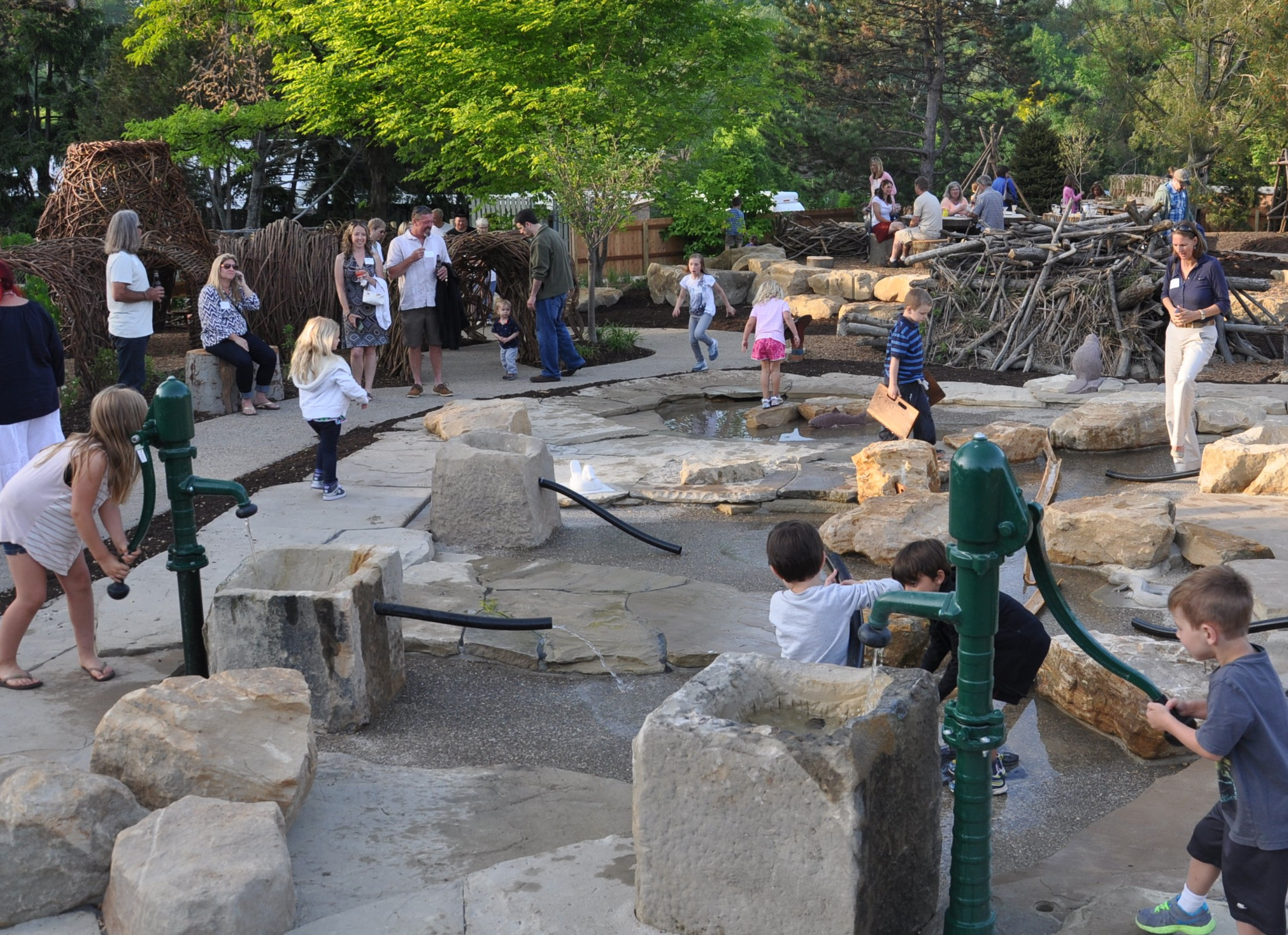 cleveland zoo nature playscape learning landscapes