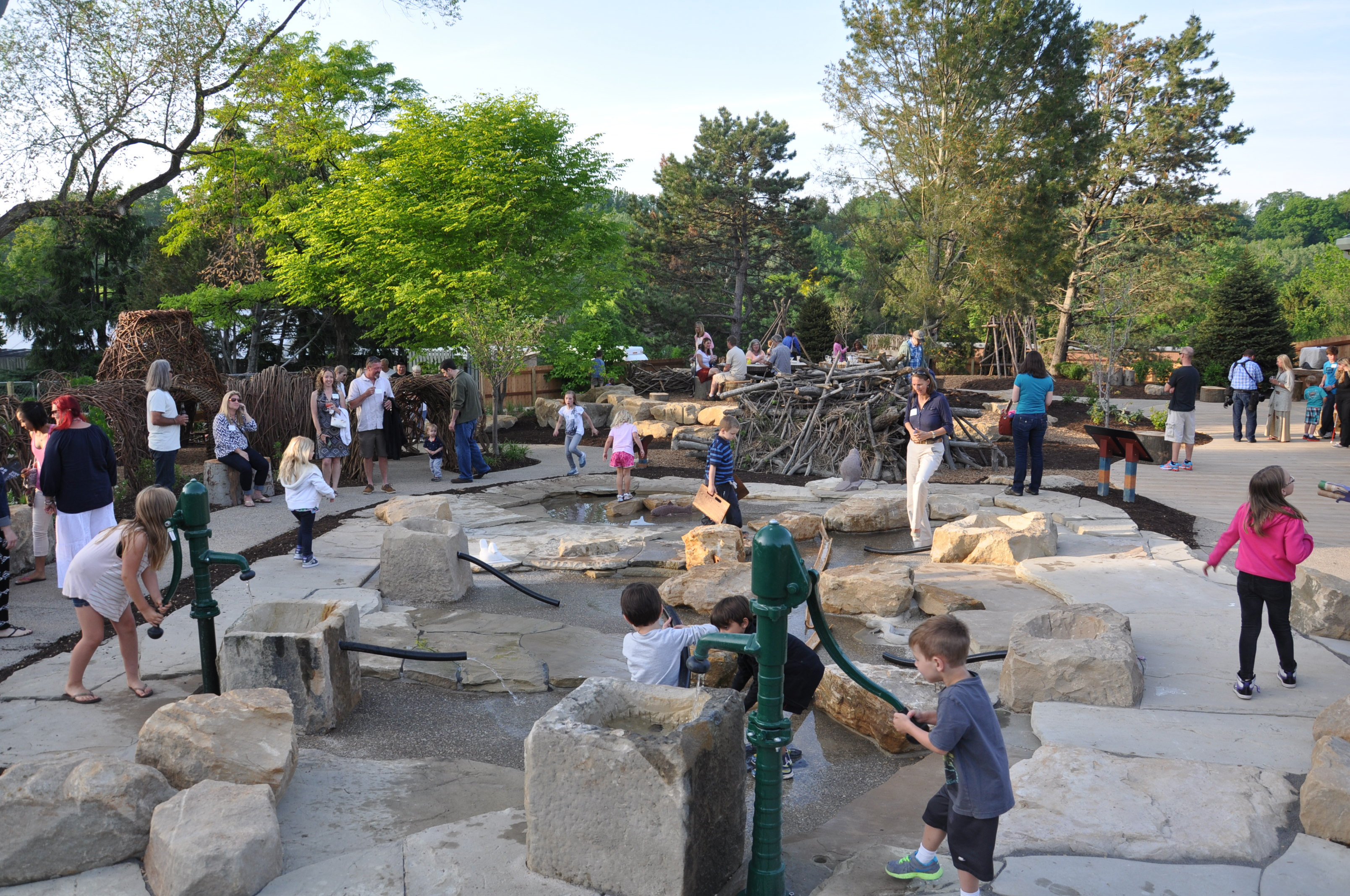 Discovery Ridge Opens At The Cleveland Zoo Learning Landscapes Professional Playscape Design