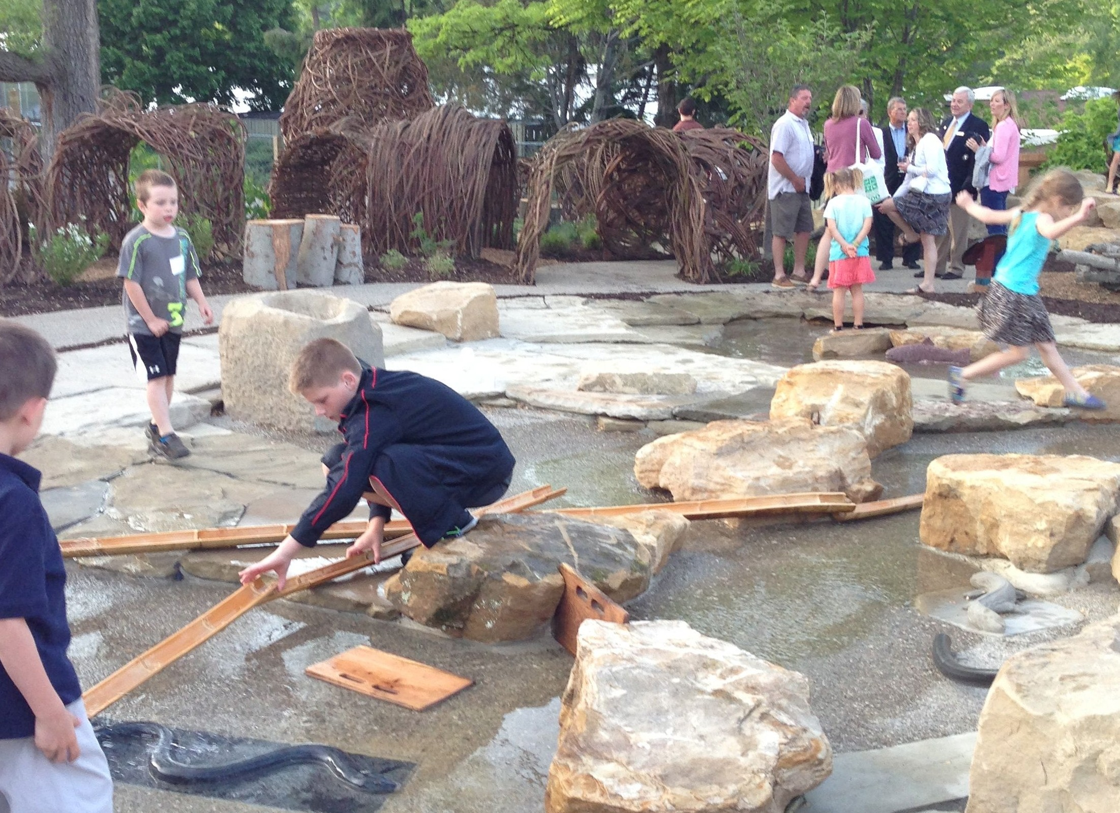 Cleveland Zoo Nature Playscape Learning Landscapes Professional
