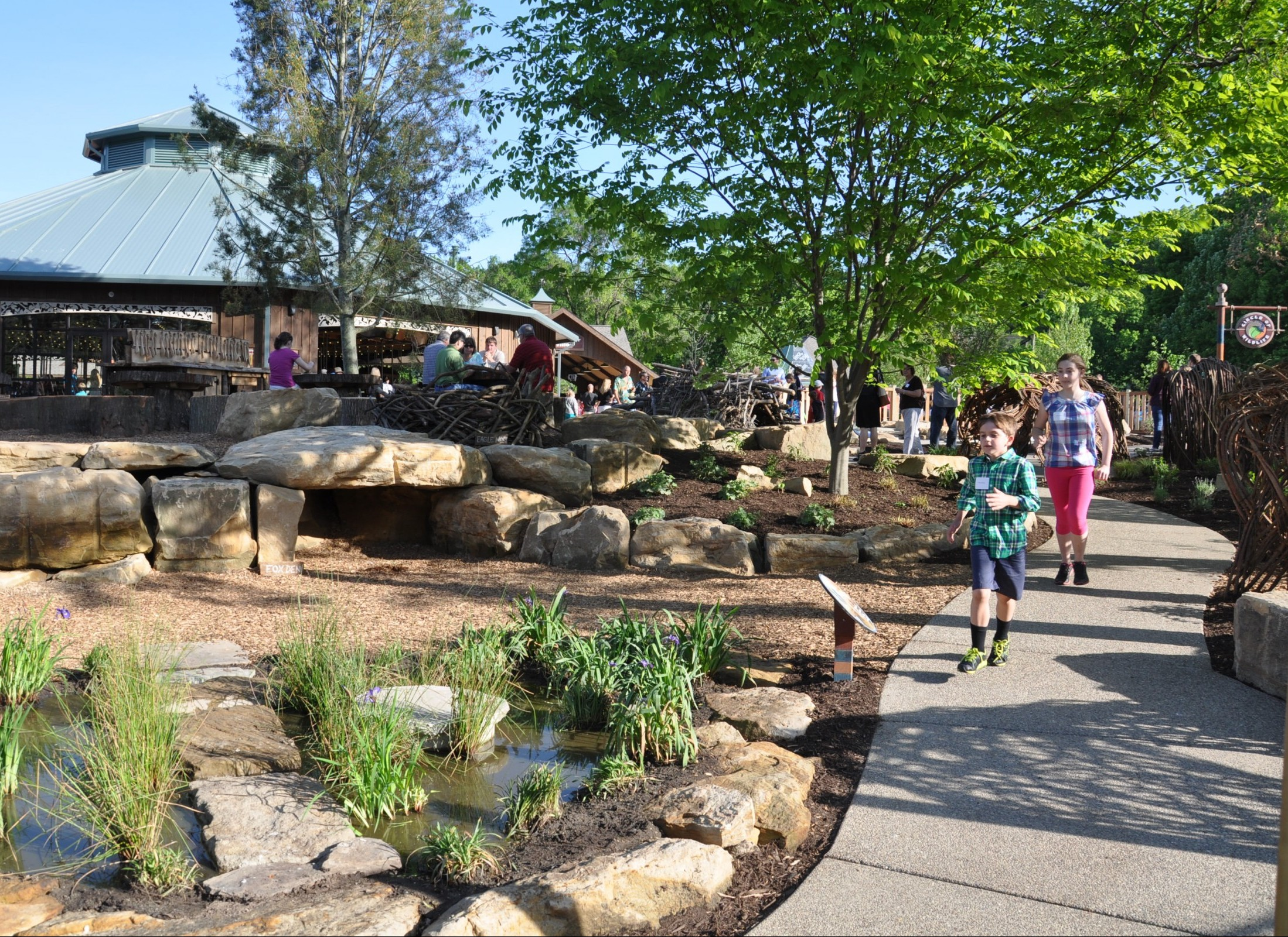 Cleveland Zoo Nature Playscape - Learning Landscapes - Professional ...