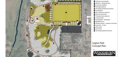 Legion Park :City of Woodburn