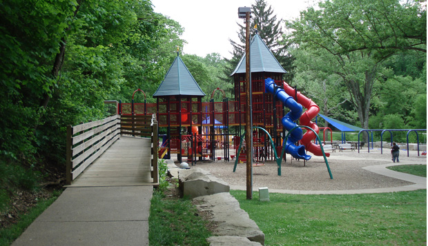 Accessible Playground Ramp from the National Center on Accessability