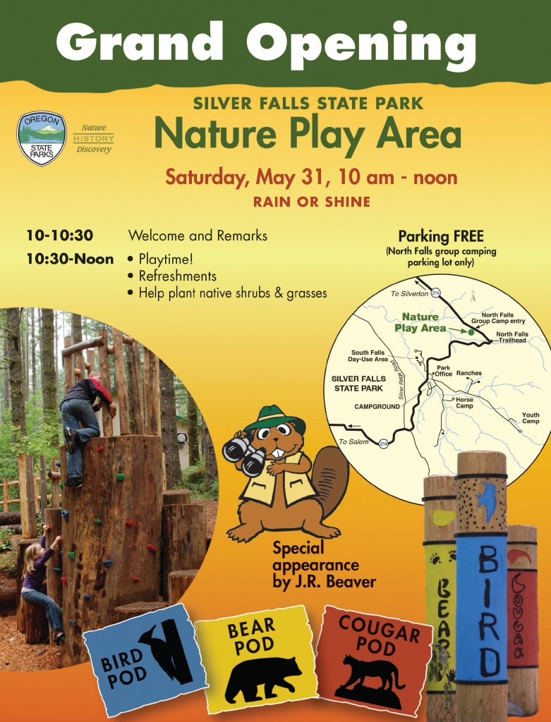 Nature Play Area Grans Opening