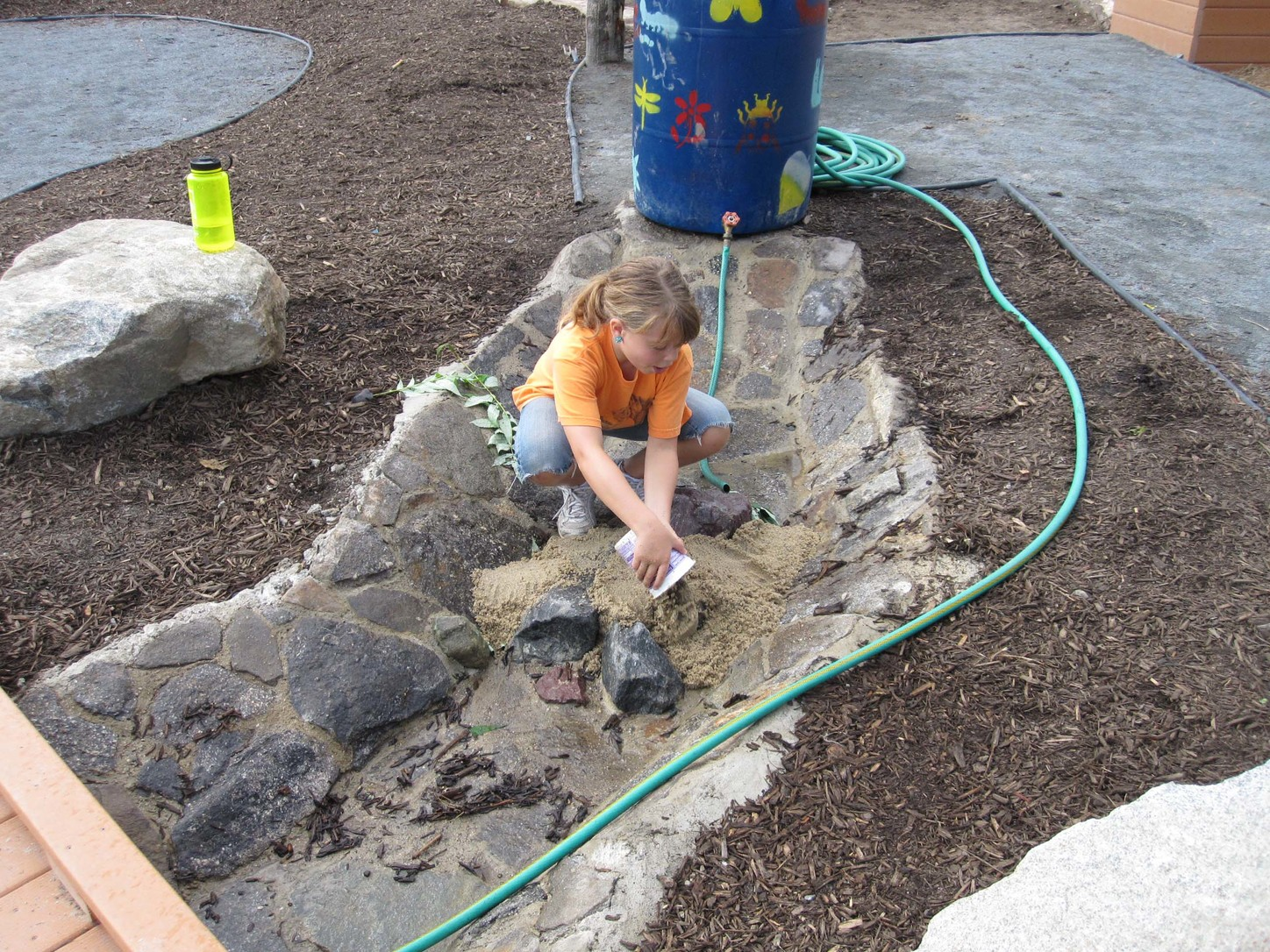 Constructing Sand And Water Play Areas Learning