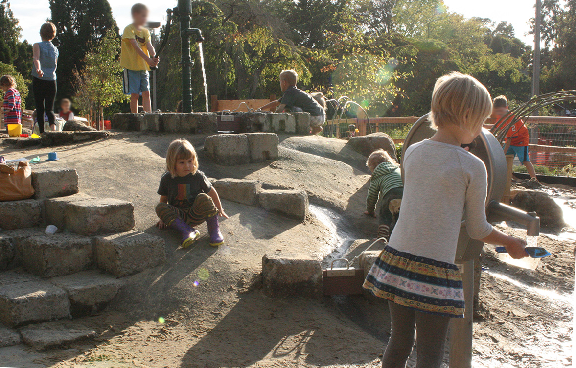 Westmoreland nature play area opens learning landscapes for Learn landscape design