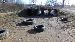 tire flip and tunnel__scioto obstacle course_Learning_Landscapes_Design_copyright
