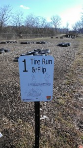 tire flip sign_scioto obstacle course_Learning_Landscapes_Design_copyright