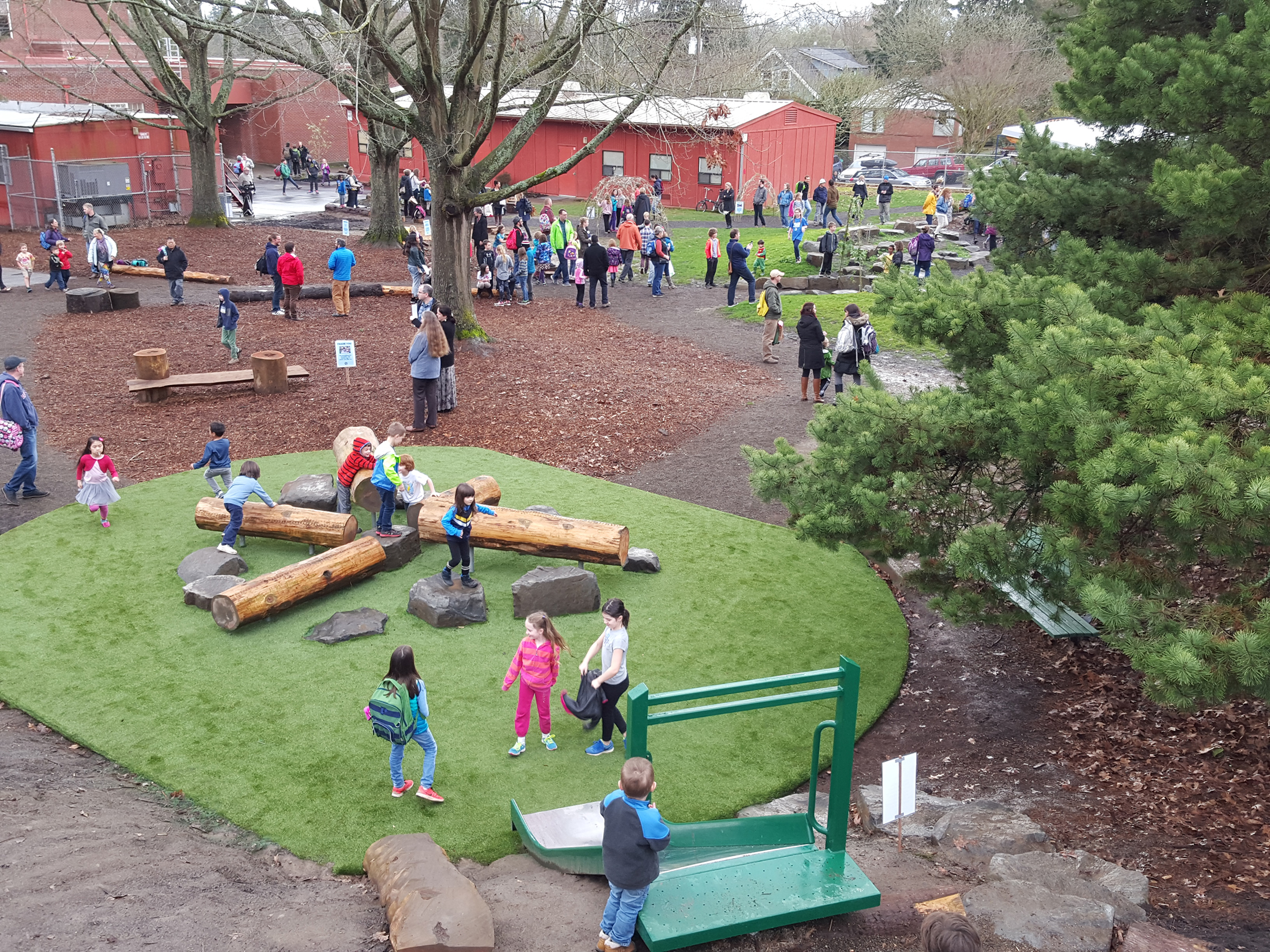 Sabin Elementary School Nature Playground Learning Landscapes