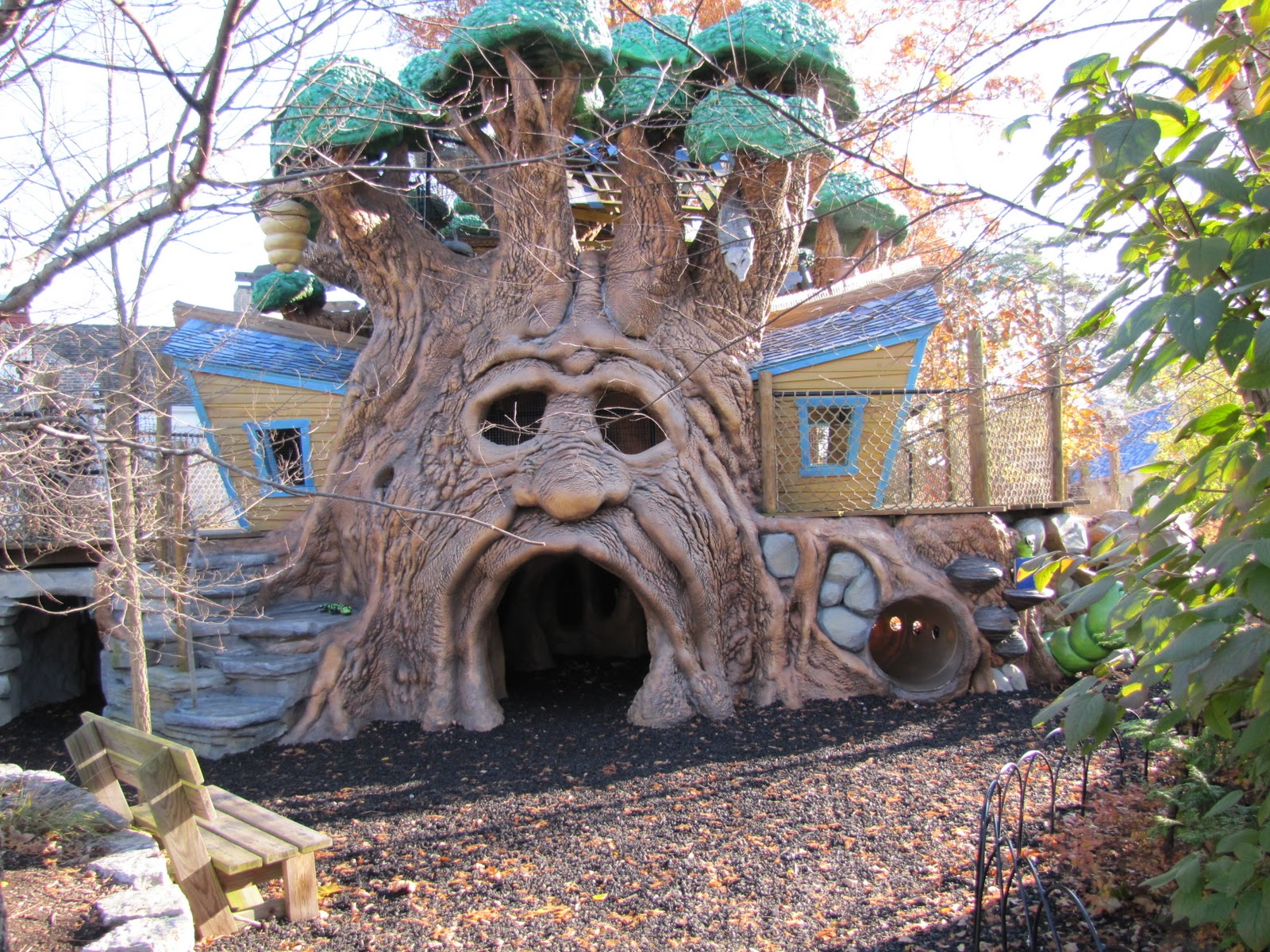 Giant Treehouse, Outdoor Trains and Lots More to Discover at Highfield